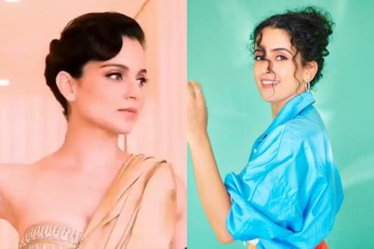 Kangana Ranaut Can't Stop Praising 'So Good' Sanya Malhotra in Pagglait, Latter Gets Emotional