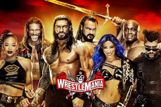 WWE WrestleMania 37 (Photo Credit: WWE)