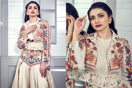 Prachi Desai Is Perfect Mix Of Sweet And Sexy, Check Out Diva Slaying Embroidered Outfit