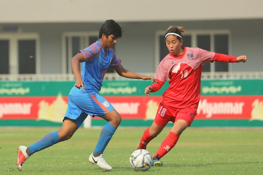 India Women's Football Team's Indumathi Kathiresan (Photo Credit: AIFF)