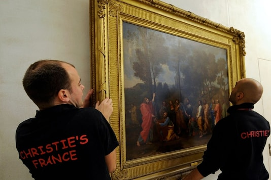Representative image of a Poussin painting. Reuters