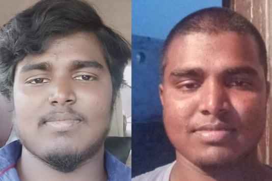 Srikanth's 'before and after' photos. (Twitter)