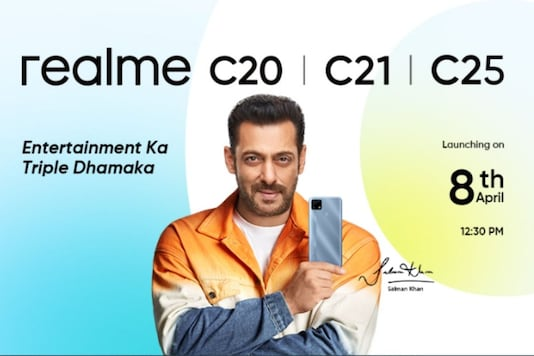 New Realme C-series phones launch in India