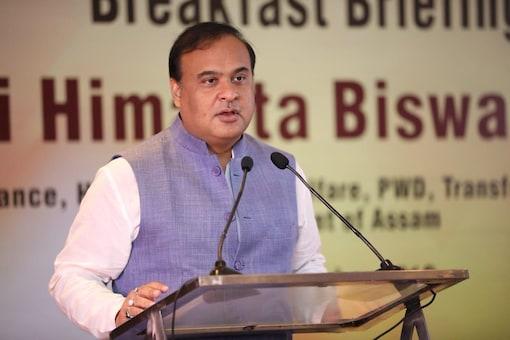 File photo of Assam CM Himanta Biswa Sarma.