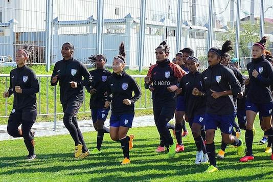 Indian women's football team (Photo Credit: AIFF)