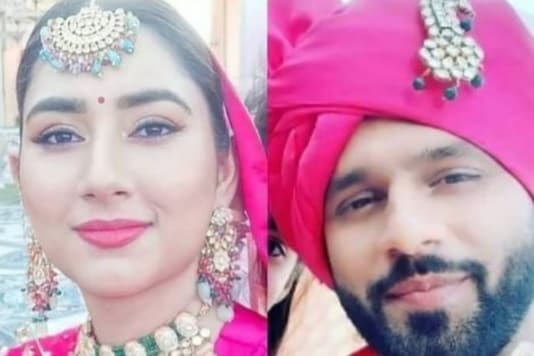 Disha Parmar And Rahul Vaidya Steal The Show As They Dress Up As Bride And Groom