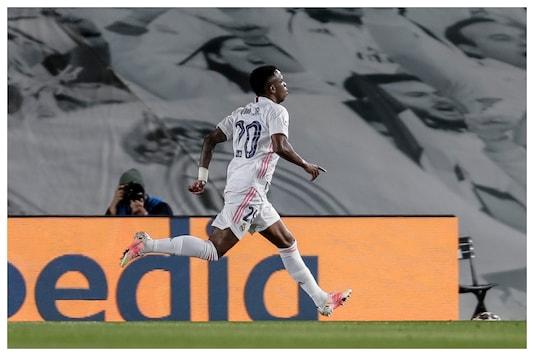 Vinicius Jr Brace Helps Real Madrid Beat Liverpool 3-1 In 1st Leg of Champions League Quarterfinals