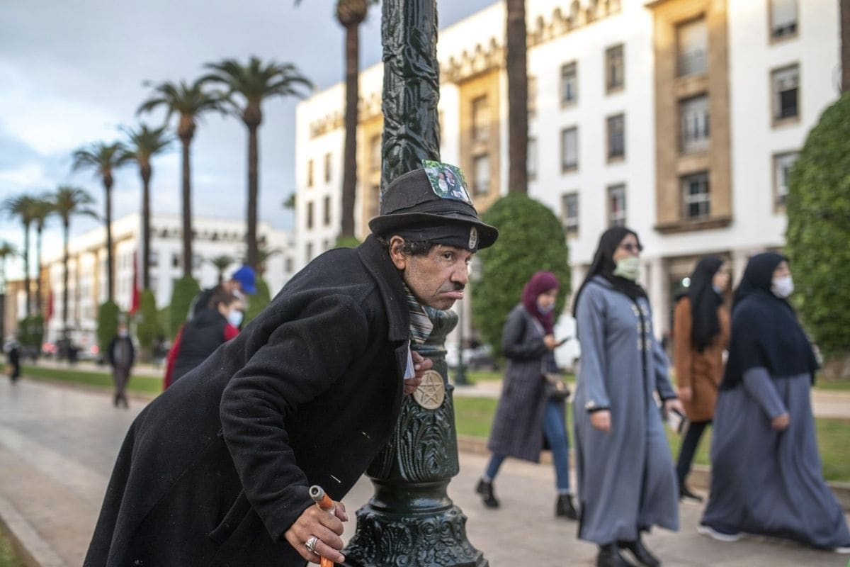 When 58-year-old Moroccan Belhussein Abdelsalam was arrested and lost his job three decades ago, he saw Charlie Chaplin on television and in that moment decided upon a new career: impersonating the British actor and silent movie maker remembered for his Little Tramp character.Photo: AP