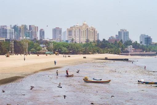 Image for representation. A view of Girgaon chowpatty in Mumbai.