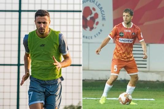 Igor Angulo (L) and Alberto Noguera (Photo Credit: FC Goa Instagram)