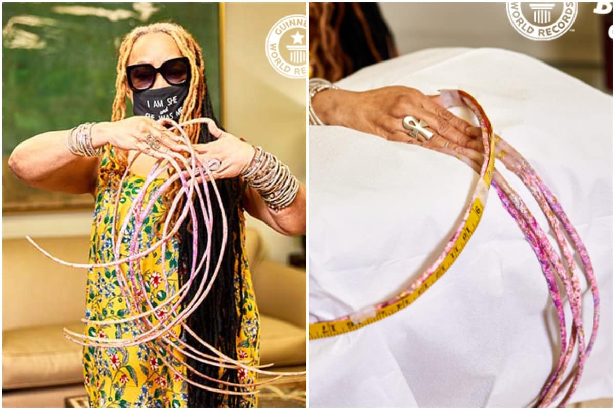 Woman with Guinness World Record for Longest Fingernails Cuts Them ...
