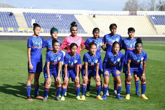 Indian women's football team (Photo Credit: AIFF Twitter)