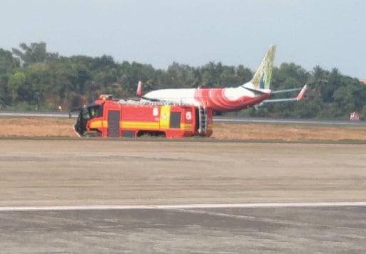 Air India Express flight. (Image: ANI)