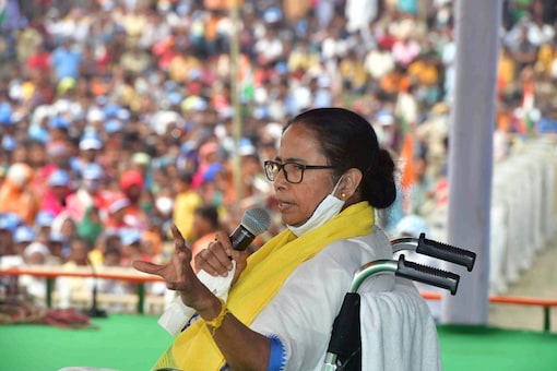 File pic of West Bengal chief minister Mamata Banerjee. (PTI)