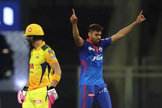 Avesh Khan was very restrictive with the new ball against CSK conceding just 23 runs in his 4 overs while also bagging a couple of wickets.