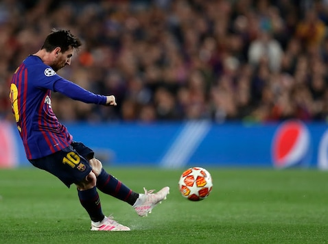 Lionel Messi is known as 'The Flea' for his agility and speed.