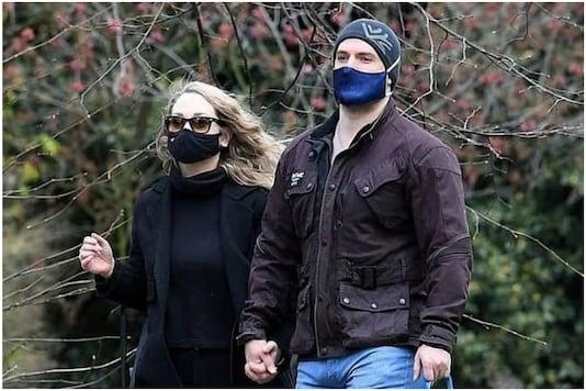 Henry Cavill with Danielle Beausoleil