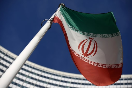 The Iranian flag. (Reuters)