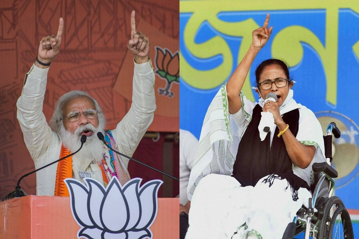How Covid took the stage in TMC-BJP's fierce battle as cases spiked in Bengal Polls In the middle