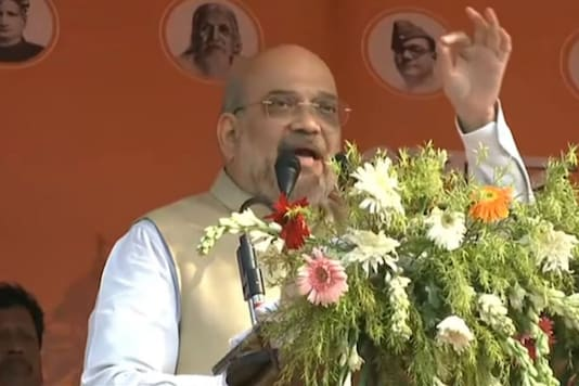 Union Home Minister Amit Shah at West Bengal rally.