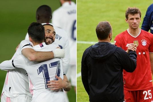 Real Madrid (L) and Bayern Munich (Photo Credit: AP and Reuters)