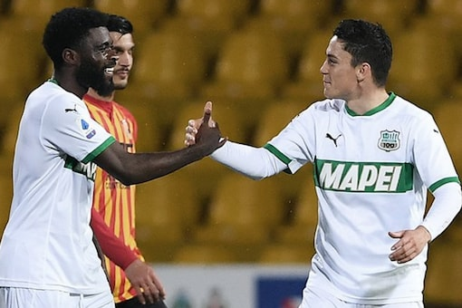 Sassuolo and Benevento (Photo Credit: Twitter)