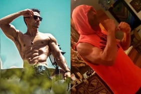 Tiger Shroff Stunned by 'Baap' Jackie Shroff's Bulging Biceps in This Viral Picture