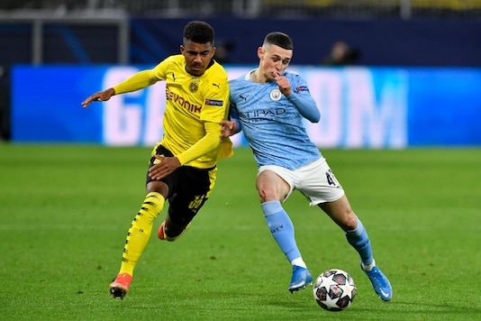 Phil Foden, on the right (Photo Credit: AP)