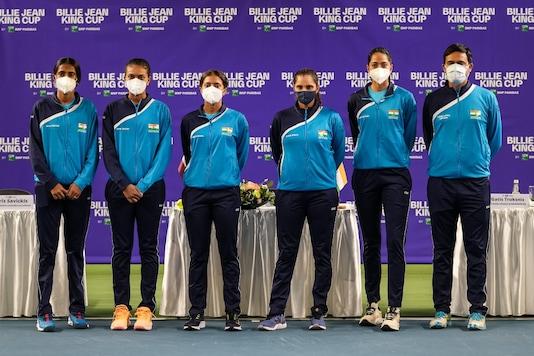 India women's tennis team for Billie Jean King Cup. (Photo Credit: Billie Jean King Cup)