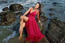 Donal Bisht Raises Temperature In Red Dress, See The Diva's Breathtakingly Beautiful Pics