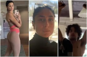 In Pics: Celebs Workout at Home Amid Coronavirus and Set Major Fitness Goals