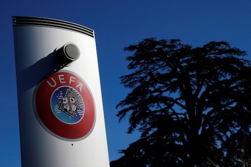 UEFA logo (Photo Credit: Reuters)