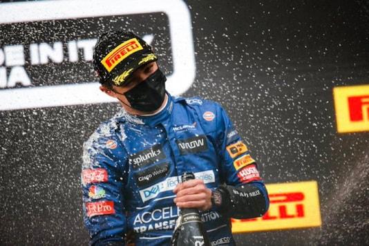 McLaren's Lando Norris (Photo Credit: Twitter)