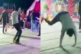 Varun Dhawan Dances to Song 'Badrinath Ki Dulhaniya' on the Sets of Bhediya