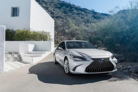 Lexus ES Facelift. (Image source: Lexus)