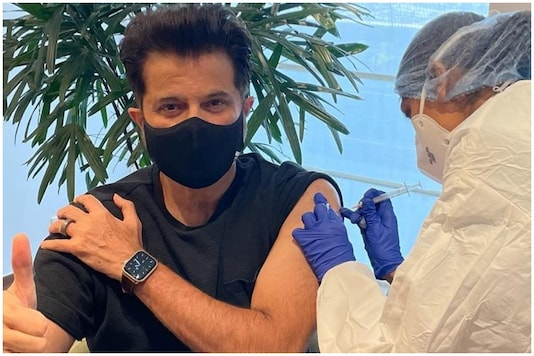 'Ageless' Anil Kapoor Gets Second Dose of Vaccine, Son Questions His Eligibility in Hilarious Post