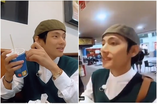 A video of Kim Taehyung ordering Oreo McFlurry in New Zealand had gone viral.