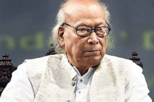 Shankha Ghosh was in home isolation on the advice of doctors, according to Health Department sources
