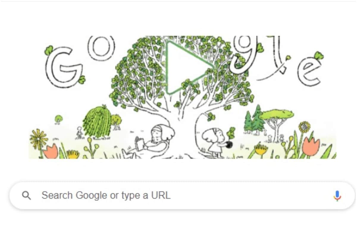 Earth Day 2021: Google Doodle Encourages Us to Plant the Seed to a Brighter Future thumbnail