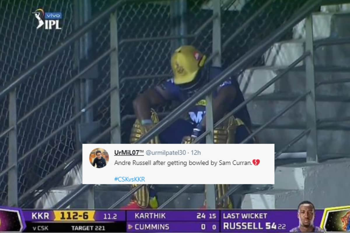 IPL 2021: Andre Russell Breaks Silence on Staircase Photograph, Reacts to KKR's Loss Against CSK thumbnail