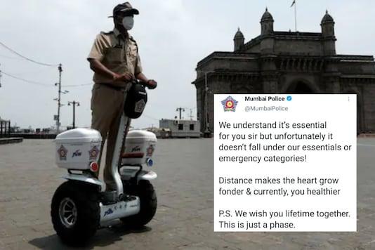 Mumbai Police   Image credit: Reuters/Twitter