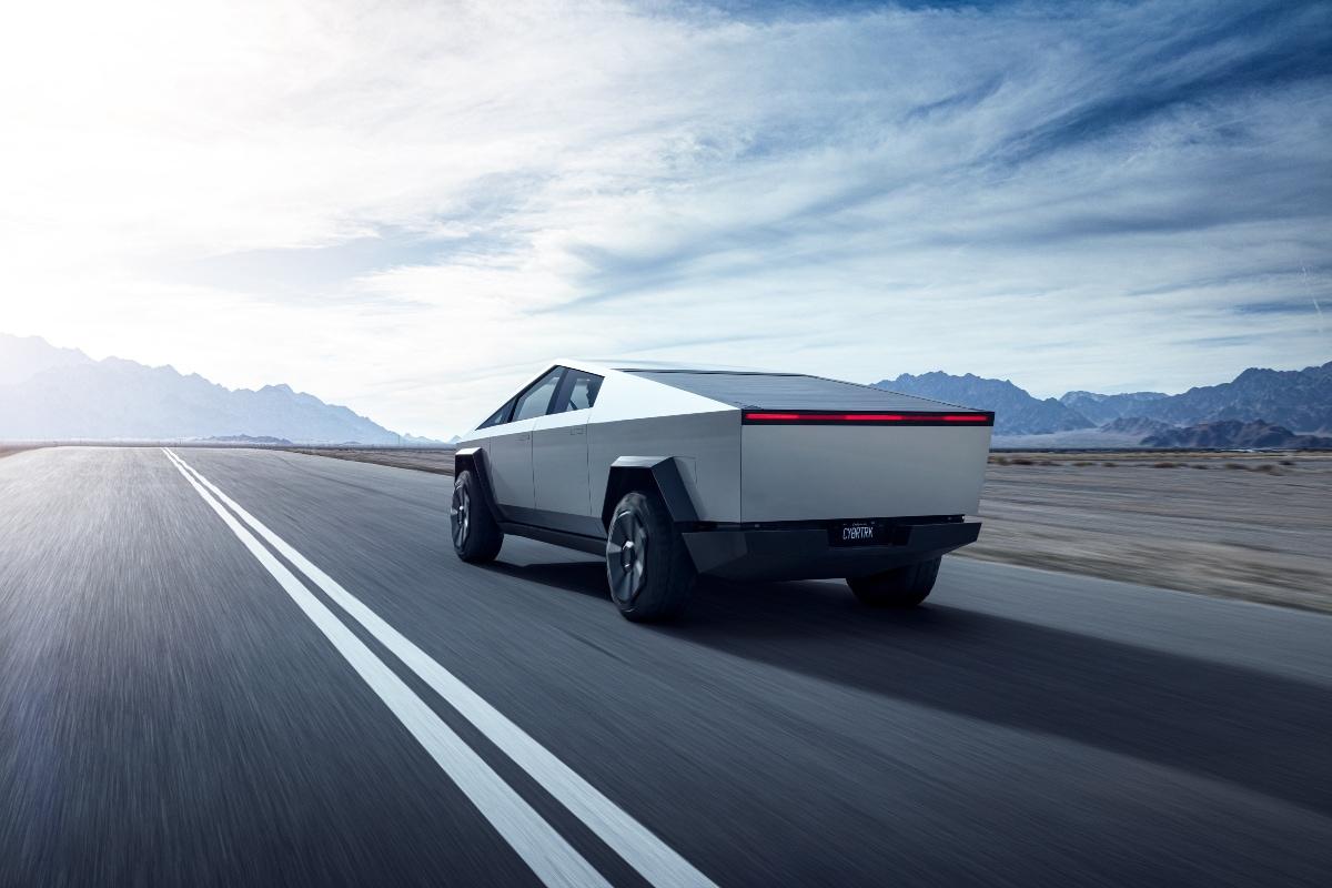 Tesla Cybertruck. (Image source: Tesla)