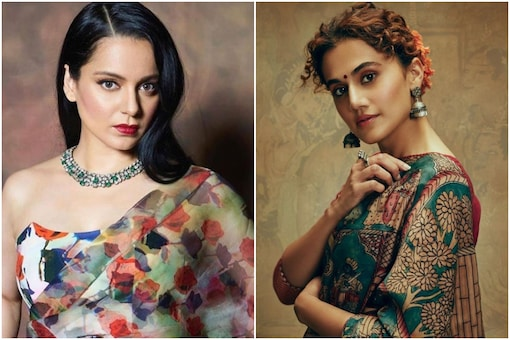 Taapsee Pannu Has the Sassiest Answer When Asked If She Misses Kangana Ranaut on Twitter
