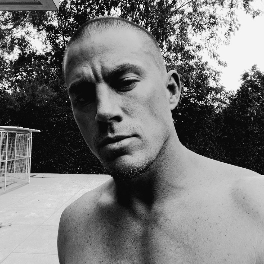 """The actor is known to shave his head after finishing his film as an act of """"letting the character go"""", raising the temperature by quite a few degrees with his bold bald look. (Image: Instagram)"""