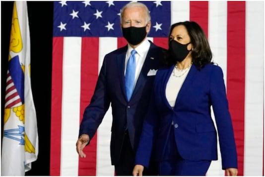 US President Joe Biden and his deputy Kamala Harris. (File pic)