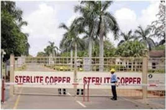File photo of Sterlite Copper factory