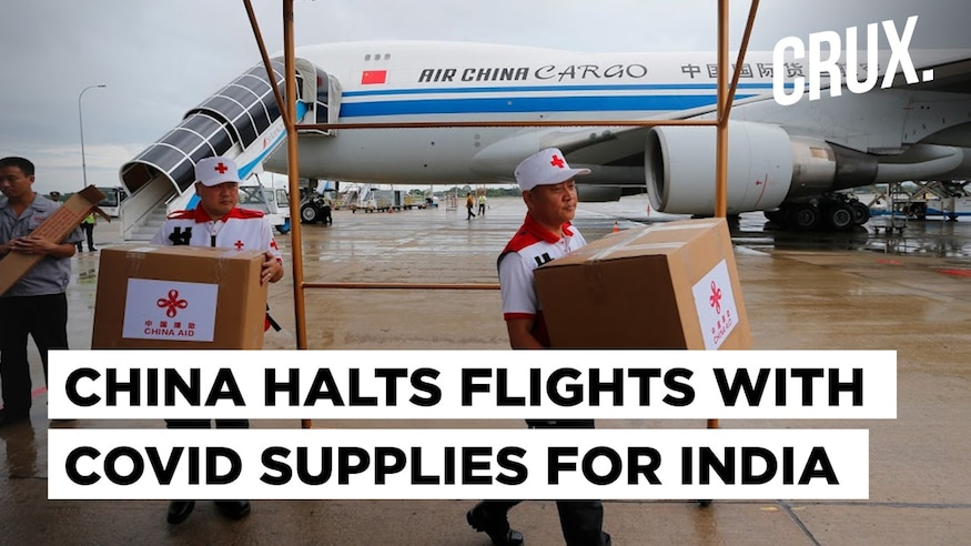 China Suspends Cargo Flights Bringing Key Medical Supplies to India Despite Its Diplomatic Promises