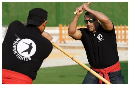 Tahtib, an Egyptian stick-fighting tradition