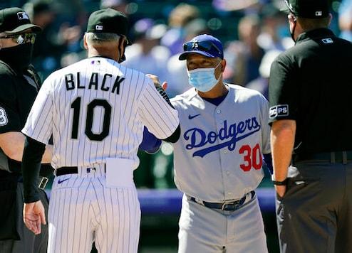 LA's Bellinger Homers, Ruled Out For Passing Turner On Bases