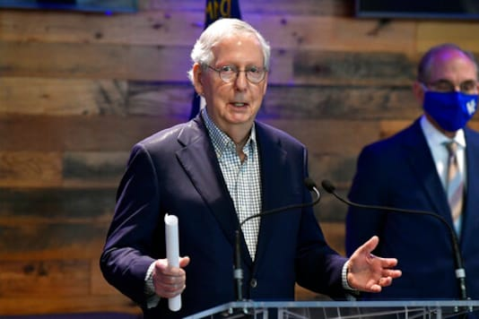 McConnell Downplays Need For Aid To Home State's Government